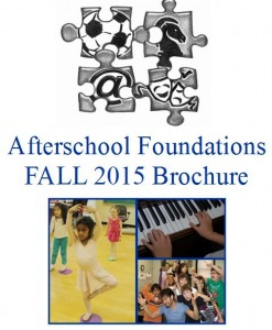 Fall 2015 Foundations Brochure is Ready!