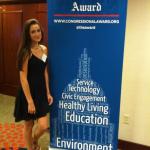 Julia McKenna Congressional award