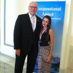 Julia McKenna Congressional award 4