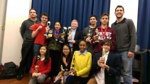 Daniel Webster Society, Debate Team, Honored at Tournament
